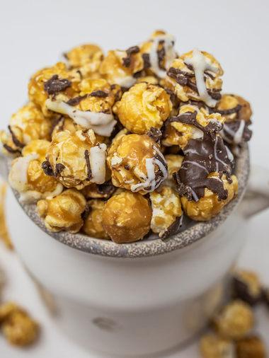 Tuxedo Popcorn