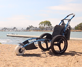 Image: Hippocampe Beach Wheelchair