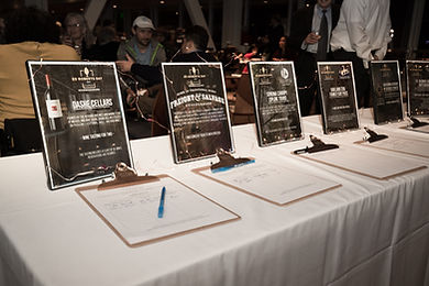 A Photo of the Ed Roberts Awards silent auction