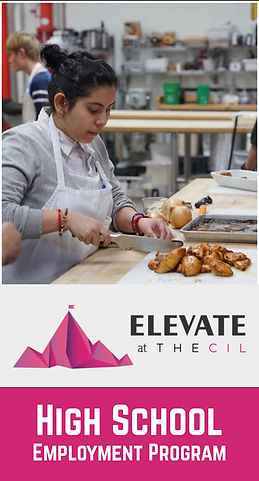 Elevate at TheCIL: High School Employment Program