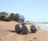Image: Natural Access Beach Wheelchair