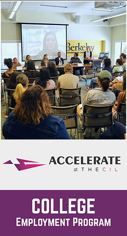 Accelerate at TheCIL: College Employment Program