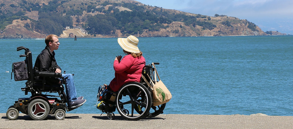A Wheelchair Travel Training Guide in Sausalito