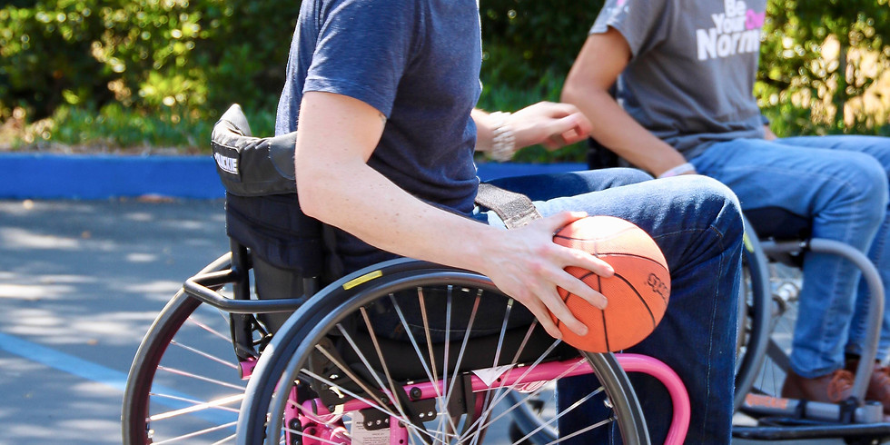 Wheelchair Basketball Shootaround