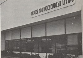 The first Center for Independent Living Office. Telegraph Avenue in Berkeley, California.