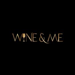 Wine & Me logo mustalla taustalla.png