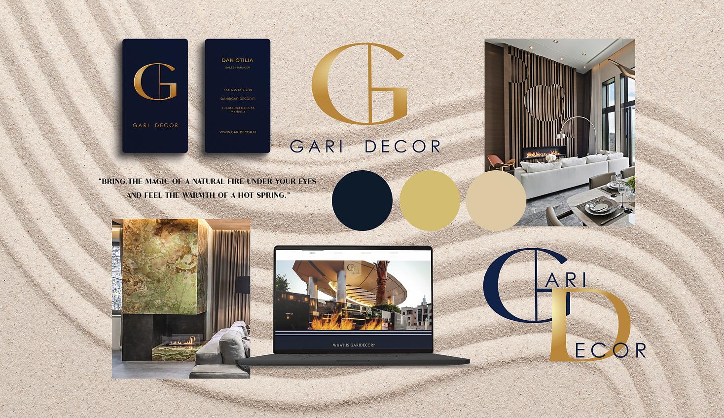 Gari Decor branding