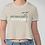 Thumbnail: Eat More Plants, Do More Yoga. Crop T-Shirt
