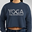 Thumbnail: YOGA. YOU DOWN DOG? Crop Sweatshirt
