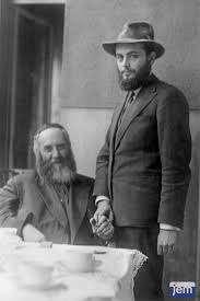 Rabi Rayatz e o genro, o Rabi