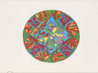 The Art of Centering:Mandala
