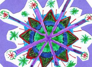Mandala: In honor of Chinese New Year