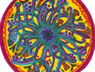 Mandala sea flower