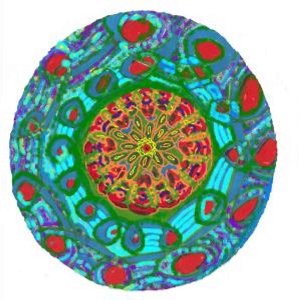 solstice mandala
