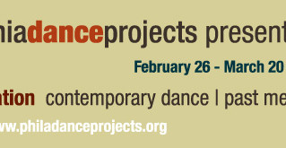 Philadelphia modern dance events this wkend