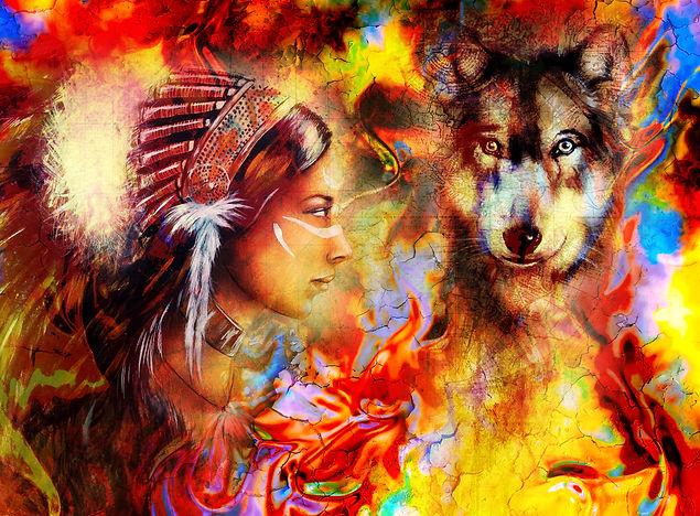 Myette et Sween le loup