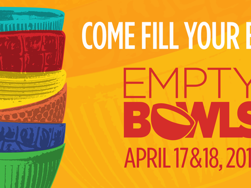 Come Fill Your Bowl: Empty Bowls 2018
