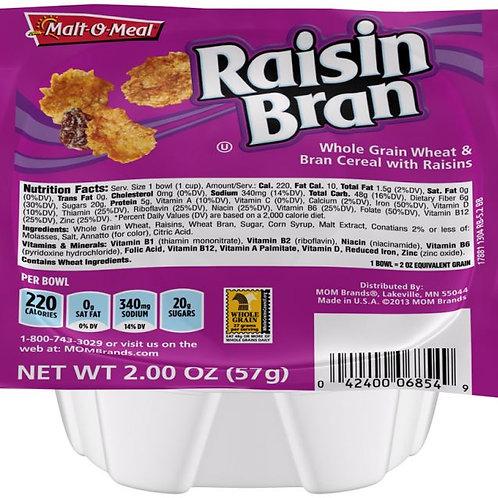 Single Serve Raisin Bran Bowls
