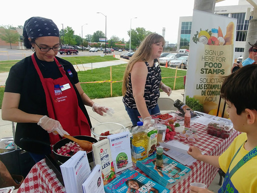 Bringing Fresh Food and Healthy Recipes to the Community