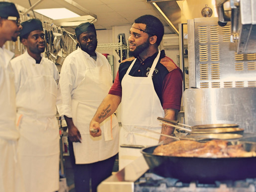 "What does Triad Community Kitchen mean? ""It means a way out,"" says graduate Terrell Anis"
