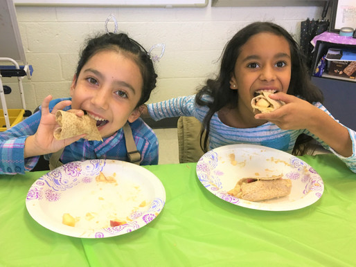 Apple Wraps and Healthy Snacks: Cooking Matters for Kids