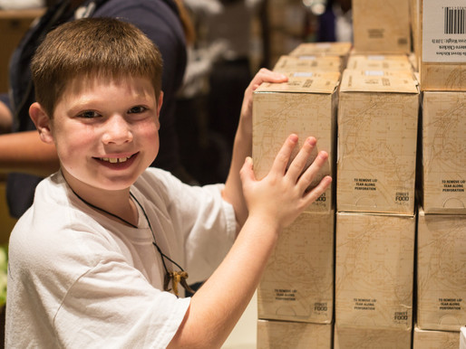 Be the Reason. 5 Ways Your Family Can Feed Community this Holiday Season.