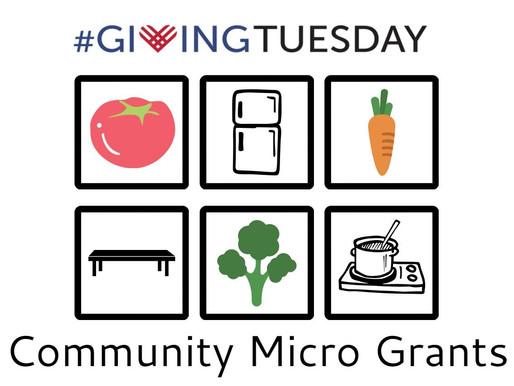 Become a Grant Maker! Feeding Community through Micro-Grants