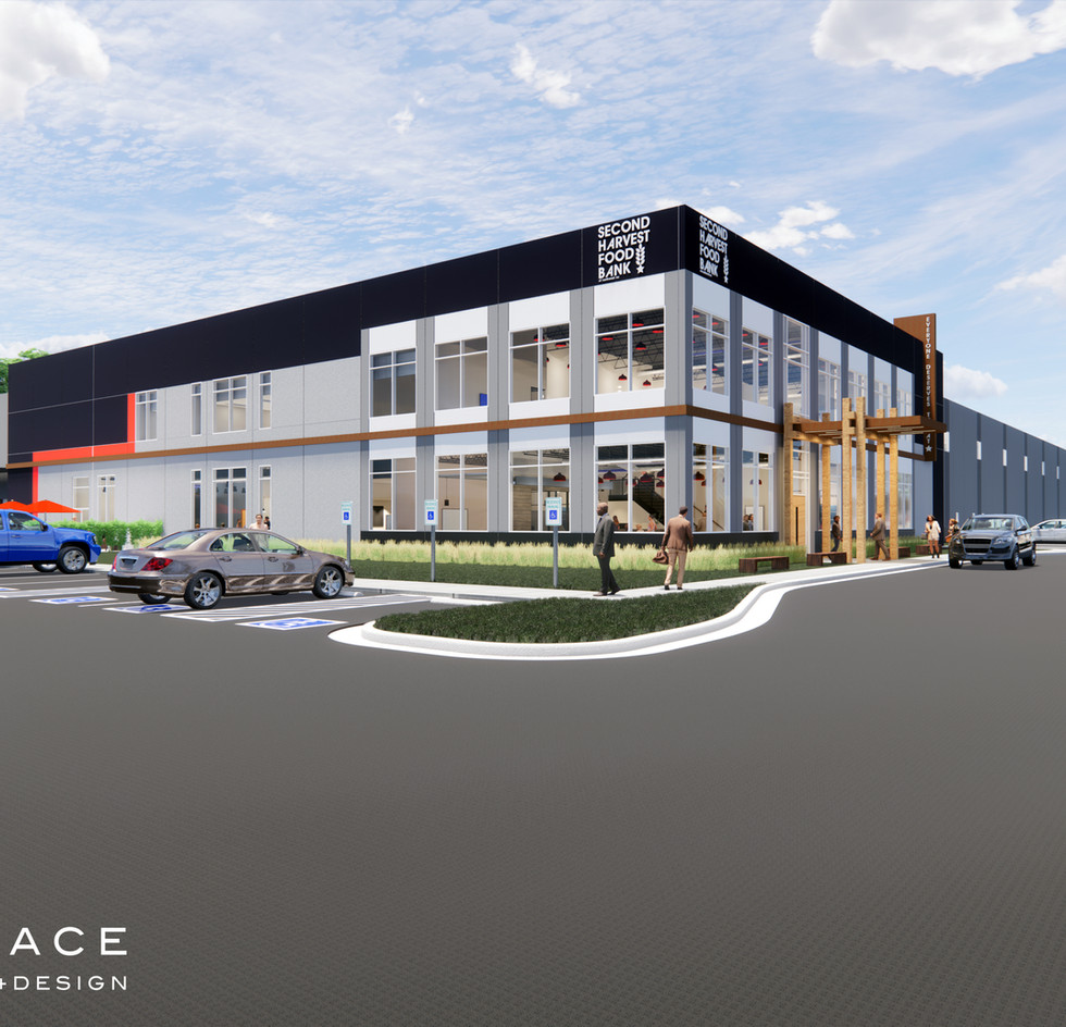 FACADE & PARKING / APPROACH & SPECIAL ACCOMMODATION / MAIN ENTRY