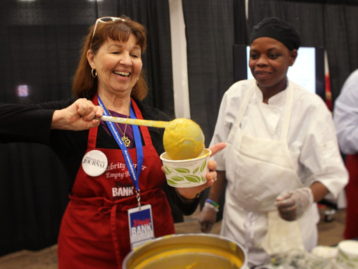 Soups On! Ever wonder why we serve soup at Empty Bowls?