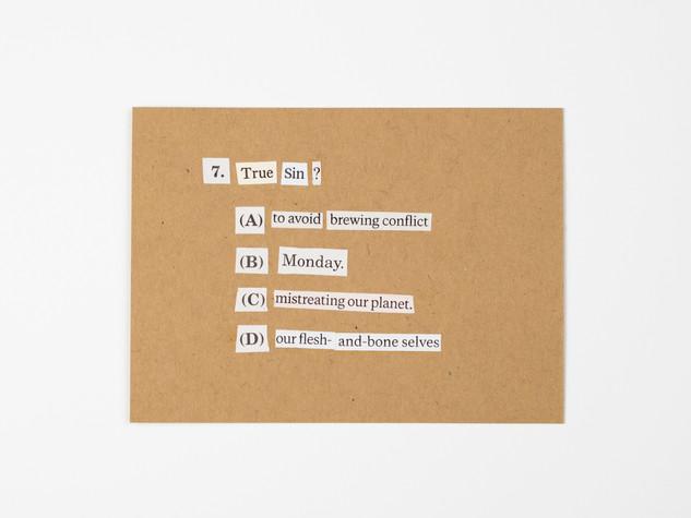 7. True Sin