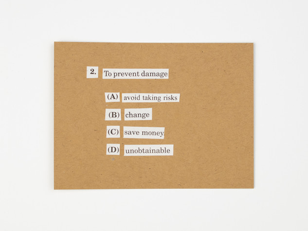 2. To Prevent Damage
