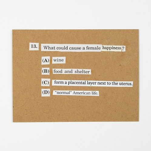 13. What Could Cause a Female Happiness?