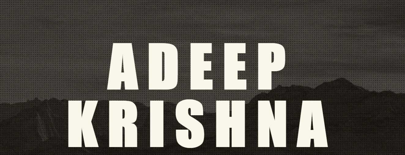 Tutorials | Adeep Krishna - Director | Video Editor
