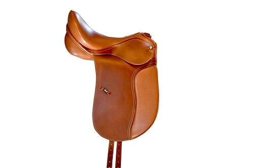 Leather Dressage Saddle