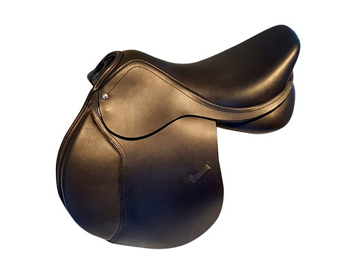 Leather All Purpose Saddle with Interchangeable Gullet