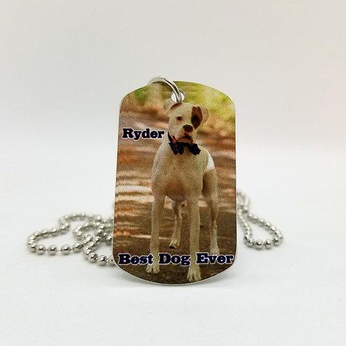 Aluminum Dog Tag