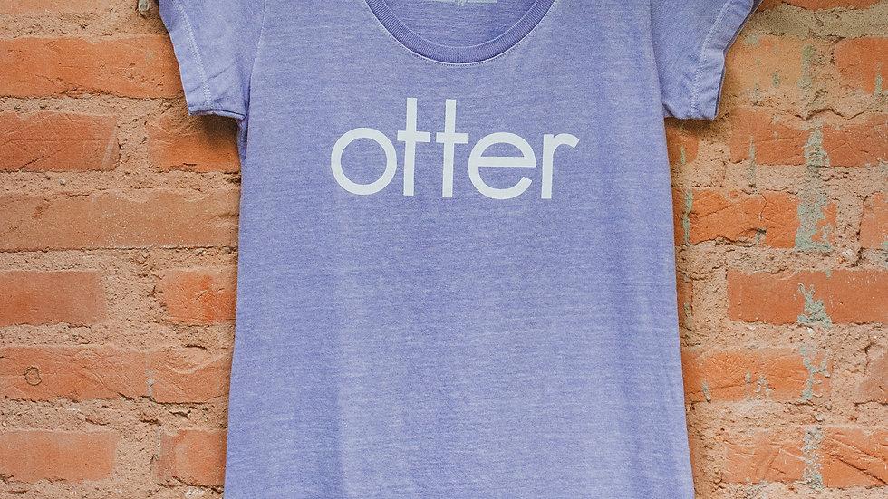 Vestido lilás Otter estilo
