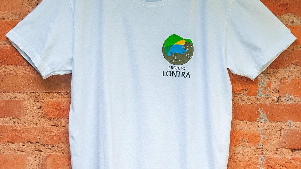 Camiseta Projeto Lontra Branca com Logo