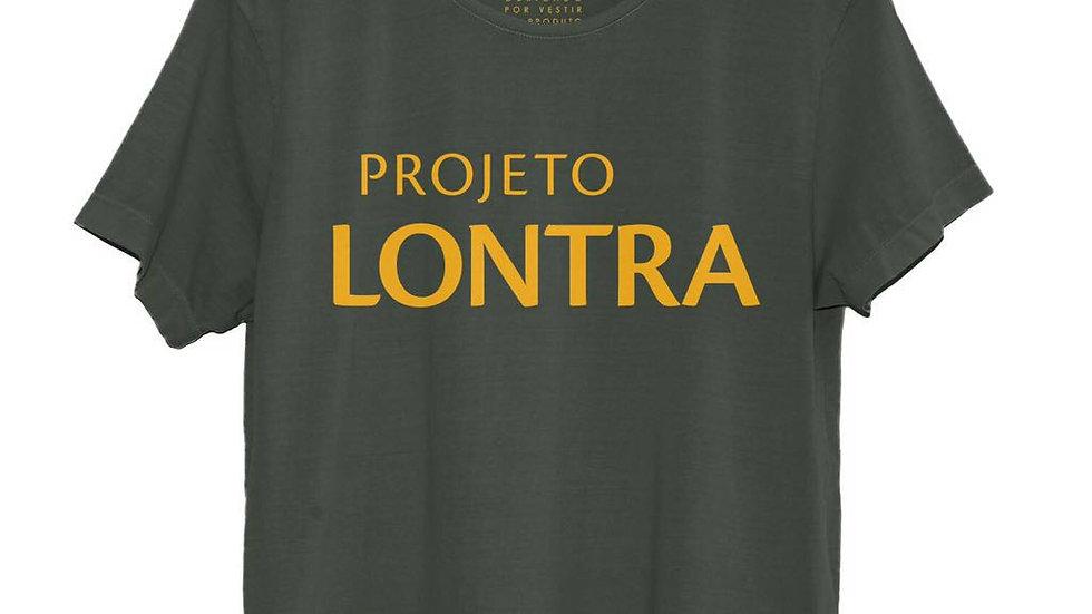 Camiseta Projeto Lontra Verde