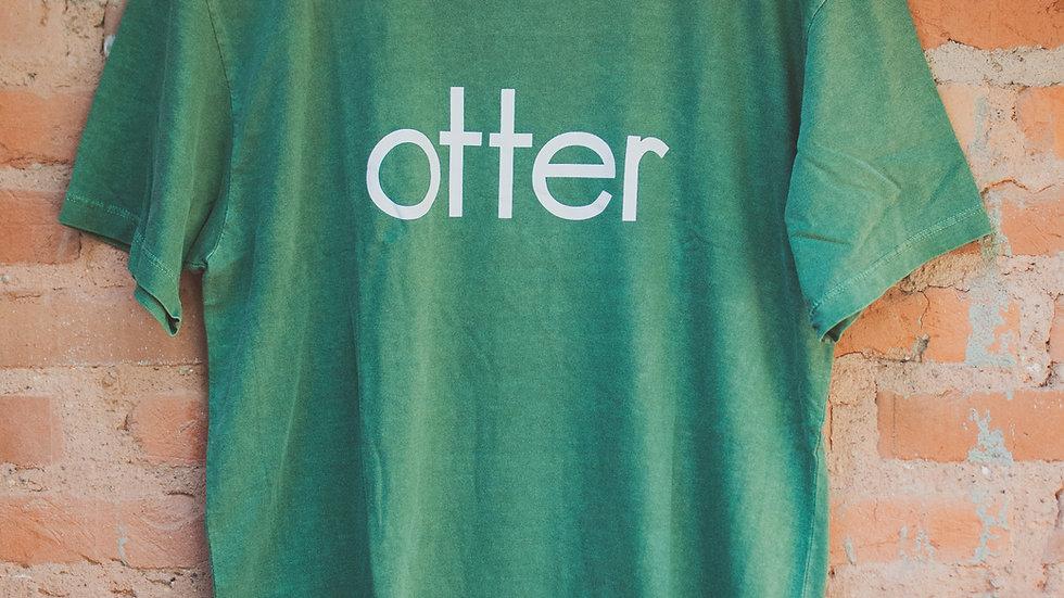 Camiseta Otter verde