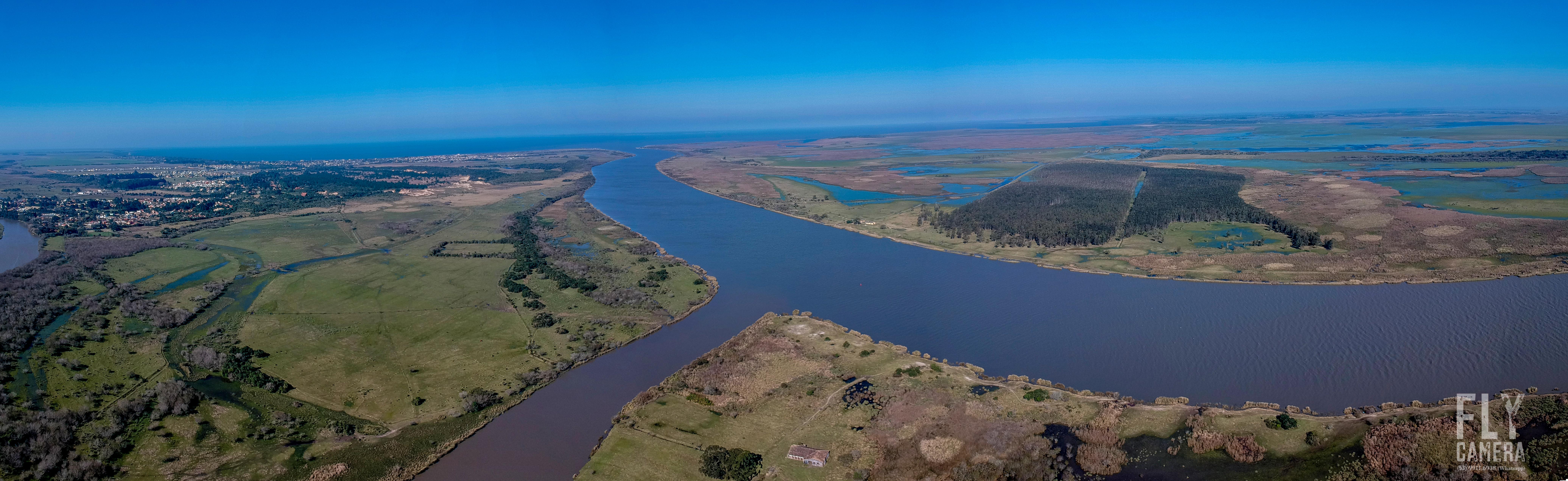 Panorama_Canal_sao_gonçalo_arroio_Pelota