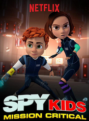 The series centers around brother and sister team Juni and Carmen Cortez as they attend Spy Kids Academy, a top secret spy school for kid agents. When a new counter-spy agency threatens the safety of the world, it will be up to junior spies Juni and Carmen to train and lead a team of fellow Spy Kids cadets against the forces of S.W.A.M.P. (Sinister Wrongdoers Against Mankind's Preservation) and their diabolical leader, Golden Brain. The Mission Critical team may not be ready, but they are the only ones to call when grown-up spies can't do the job.