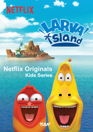 Stranded on a tropical island, two goofy larva buddies find slapstick fun in everything from discovering food to meeting new animal friends.