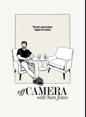 Photographer and director Sam Jones sits down with the myriad professionals of television and movies, and other celebrities (great skateboarders, for example), to discuss their development before fame, their passions beyond their careers, and gives them a space to open up about their insight into their business and their own abilities. Filmed in black and white, with a few deep cushion chairs and sparse set, the show relies on Sam's ability to relate to the guests and their will to speak freely with him
