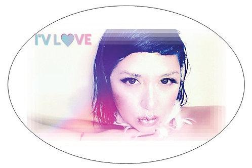 DJ I'V LOVE STICKER-ORIGINAL