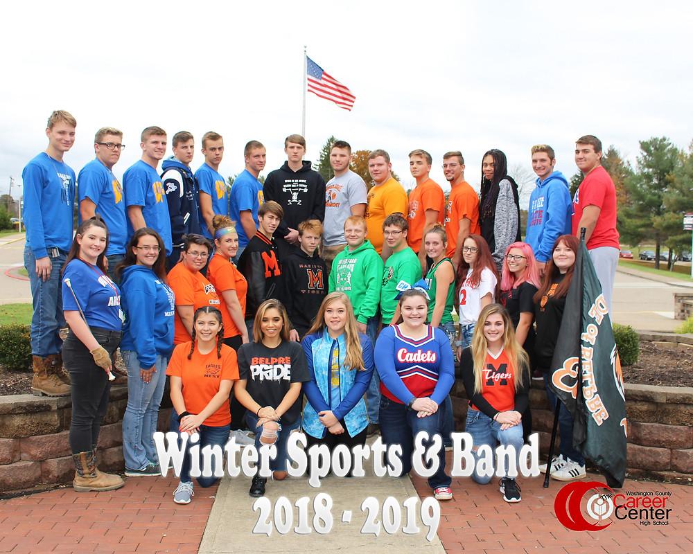 Winter Sports & Band 2018-2019