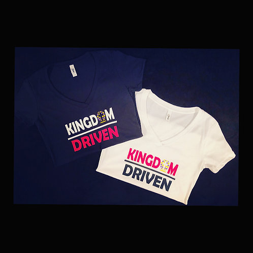 Kingdom / Driven  : V- Neck T-Shirt
