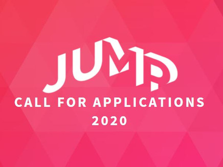 JUMP - Call for Applications 2020 - до 24-ти ноември 2019!