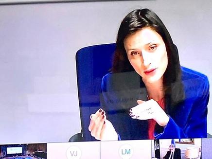 Европейският комисар Мария Габриел за спешните мерки за културния сектор