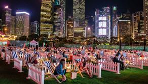 The Grounds, първото социално дистанцирано място за развлечения на открито в Хонконг